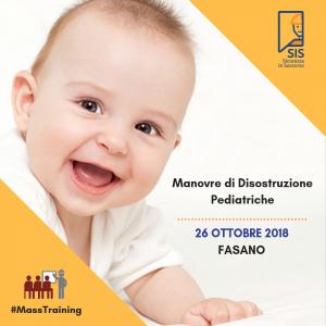 Evento Informativo Manovre di Disostruzione Pediatriche @ Sicurezza In Soccorso Srl | Fasano | Puglia | Italia
